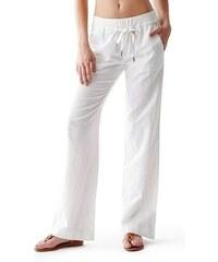 Guess Kalhoty Linen Pants