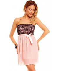 Dámské plesové/svatební šaty Gialo růžové - růžová