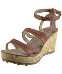 Sandálky na korkovém klínu FLY London Glam Gomm P143000007