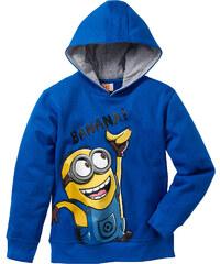 Despicable Me 2 Sweat-shirt MINIONS, T. 116/122-164/170 bleu manches longues enfant - bonprix