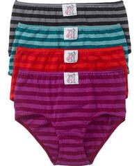 Lot de 4 maxi slips rouge lingerie - bonprix