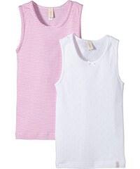 Esprit Bodywear Mädchen Unterhemd Cute Mini Stripe