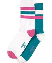 Schiesser Mädchen Socken Teens Mix & Relax, 2er Pack