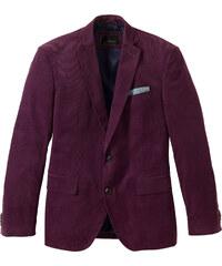 bpc selection Veste de costume en velours côtelé Regular Fit, N. violet manches longues homme - bonprix