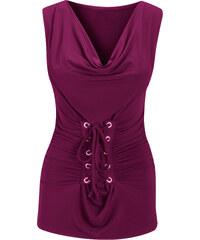 BODYFLIRT Top violet femme - bonprix