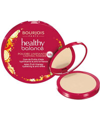 Bourjois Paris Healthy Balance Unifying Powder 9g Make-up W - Odstín 52 Vanilla