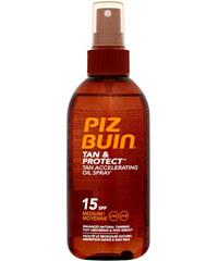 Piz Buin Tan & Protect Tan Accelerating Oil Spray SPF15 150ml Kosmetika na opalování W Urychlovač opálení