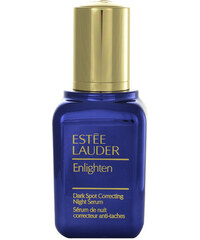 Estée Lauder Enlighten Dark Spot Correct Night Serum All Skin 50ml Pleťové sérum, emulze W Proti nedokonalostem pleti