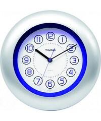 Nástěnné hodiny Twins 7181 blue 27cm