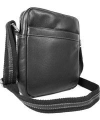 Sendi Design Pánská kožená taška na doklady SendiDesign IG711 - černá