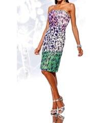 Heine Letní dámské šifónové šaty bez ramínek