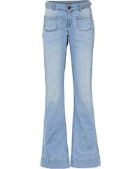 Mandarin Bootcut-Jeans