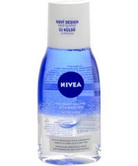 Nivea Double Effect Eye Make-up Remover 125ml Odličovací přípravek W Odličovač na voděodolný make-up