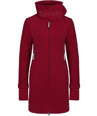 BENCH Long Funnel Neck Dark Red XS