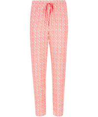 Marks and Spencer Scratch Print Tapered Leg Cropped Trousers