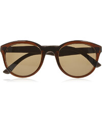 Marks and Spencer Matte Leopard Arms Rectangle Frame Sunglasses