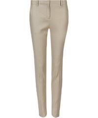 Marks and Spencer Linen Blend Tapered Leg Trousers