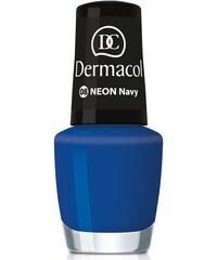 Dermacol Neon Polish 5ml Lak na nehty W - Odstín 08 navy