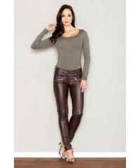 FIGL Dámské kalhoty M361 brown