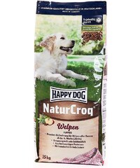HAPPY DOG Hundetrockenfutter »NaturCroq Welpen«, 15 kg