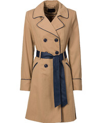 BODYFLIRT Trench-coat beige femme - bonprix