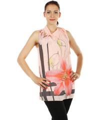 TopMode Krásný pohodlný top/tunika světle růžová