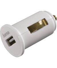 Hama USB-KFZ-Ladeadapter für Apple iPad, 5 V/2,4 A, Weiß
