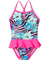 NAME IT Mädchen Einteiler Zebra Mini Swimsuit W/shield 215