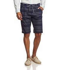 TOM TAILOR Denim Herren Shorts chambray chino bermuda/504