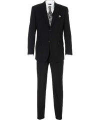 bpc selection Costume 5 pces. Regular Fit, N. noir manches longues homme - bonprix