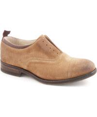 Chaussures Smith's American femme en peau retournée tabacco