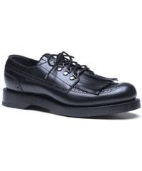 Chaussures richelieu Gucci à lacets en cuir avec franges
