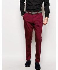 Red Eleven - Pantalon de costume style smoking - Rouge