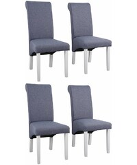 Home affaire Stuhl »Rito Tiago«, mit Strukturstoff, im 2er, 4er, oder 6er- Set