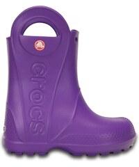 Crocs Handle It Rain Boot Kids Neon Purple
