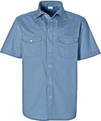 John Baner JEANSWEAR Chemisette en jean bleu manches courtes homme - bonprix