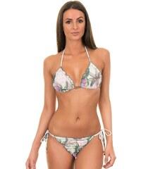 Larissa Minatto Maillots de bain femme Bikini Triangle Romantique Plissé - Imperial