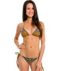 Hy Brasil Maillots de bain femme Bikini Bresilien - Leopardo Renda