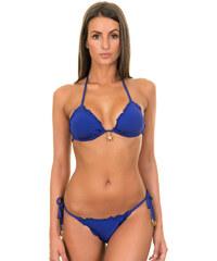 Despi Maillots de bain femme Bikini Triangle Coulissant Bleu Roi, Bas Scrunch - Al Mare Royal