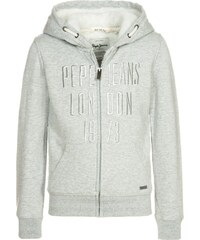 Pepe Jeans FLAVIANA Sweatjacke light grey