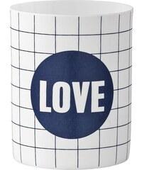 Bloomingville Porcelánový svícínek Love