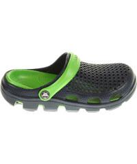 Coqui 6101 navy-lime chlapecké plážové pantofle