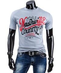 Tričko Country šedé - šedá