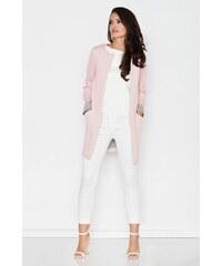 Dámský kabátek Figl M366 růžový 173094a9eaf