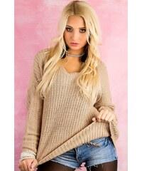 Itálie Dámský svetr pletený