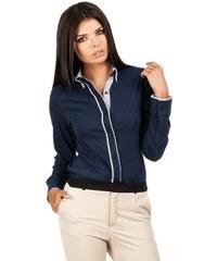MOE košile dámská 066 dvojitý límeček dvojitý límec bac7a8095c