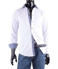 Adriano Castellani košile pánská slim fit 100 % bavlna JSBG3G