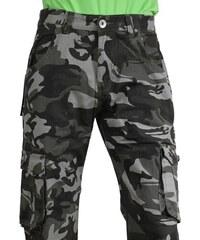 QUATRO kalhoty pánské kapsáče R1-6 maskáče