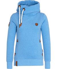 Mikina s kapucí Naketano modrá