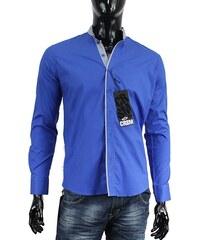 CARISMA košile pánská 8071 dlouhý rukáv slim fit modrá